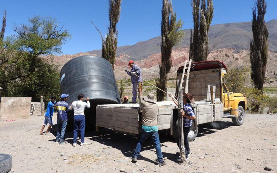 Nuova cisterna d'acqua per la comunità Pacha Inti.