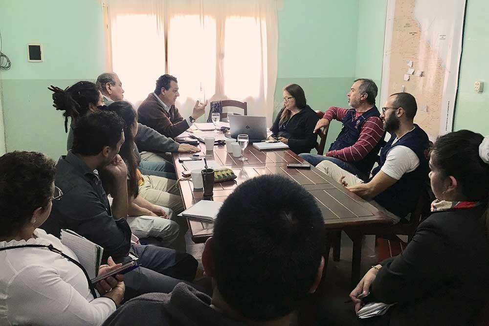"""Diario """"Trip to Argentina"""" ottobre'19 Appuntamenti tra tavole di lavoro e incontri istituzionali."""