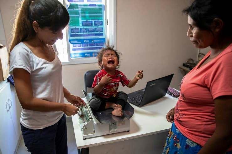 Situazione drammatica a Santa Victoria Este: mortalità infantile per denutrizione in aumento.