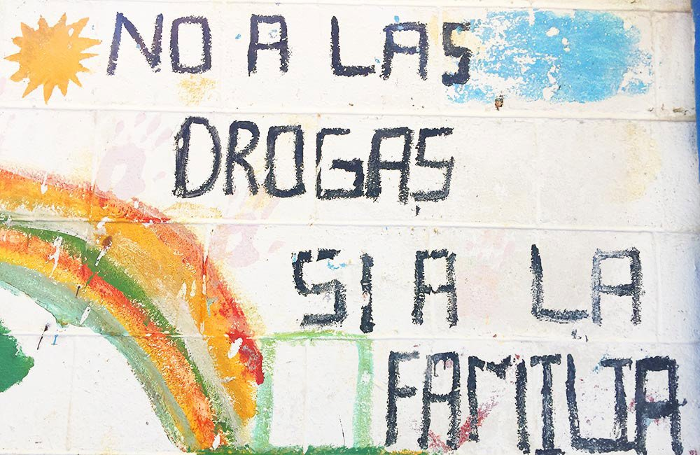 GUATEMALA. No alla droga, si alla famiglia!