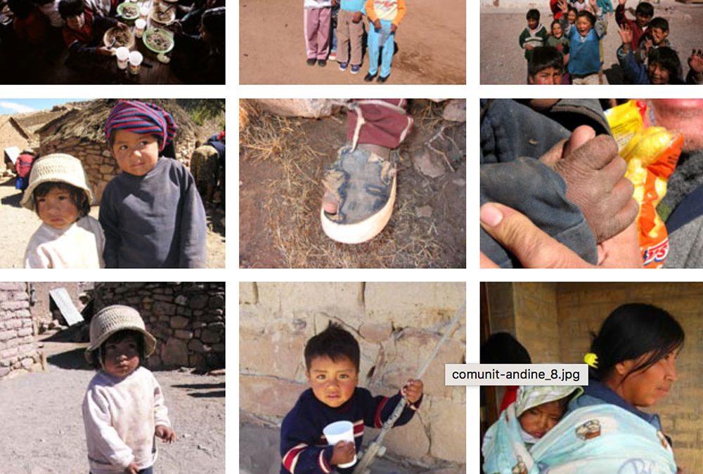Centri di accoglienza per le comunità andine