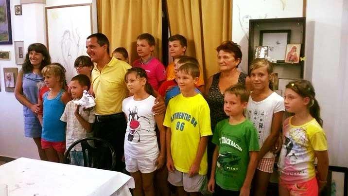 Casa dell'Albero, per i bambini di Chernobyl