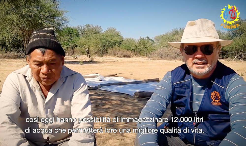 Video. Pozo El Tigre IV. Rifornimento idrico e consegna attrezzi.