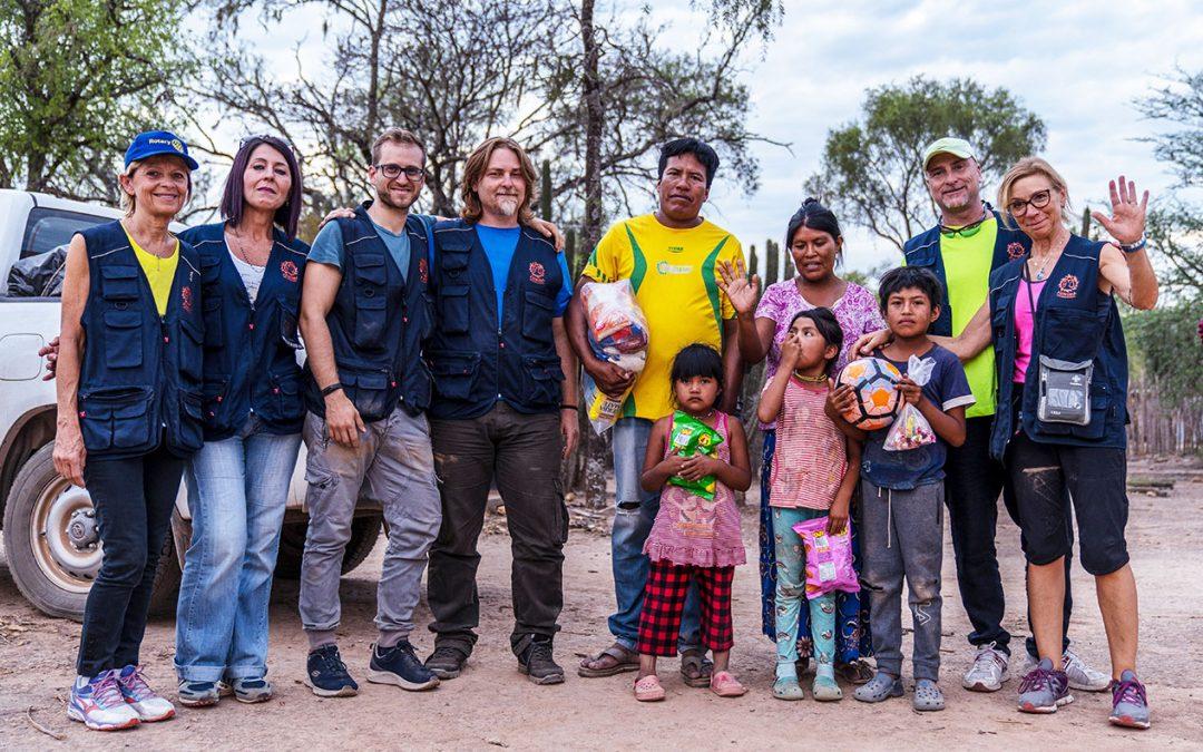 ARGENTINA. Realizzazione rete idrica La Magdalena