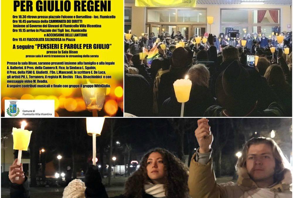 ITALIA. Verità e giustizia per Giulio Regeni