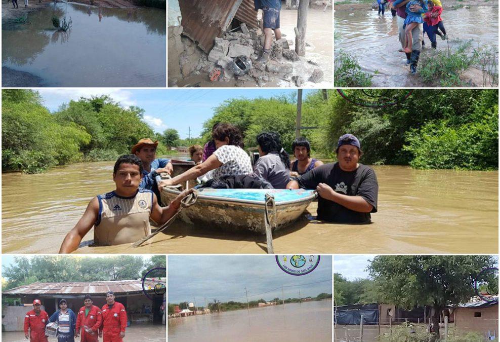 ARGENTINA. Esondazione del Rio Pilcomayo