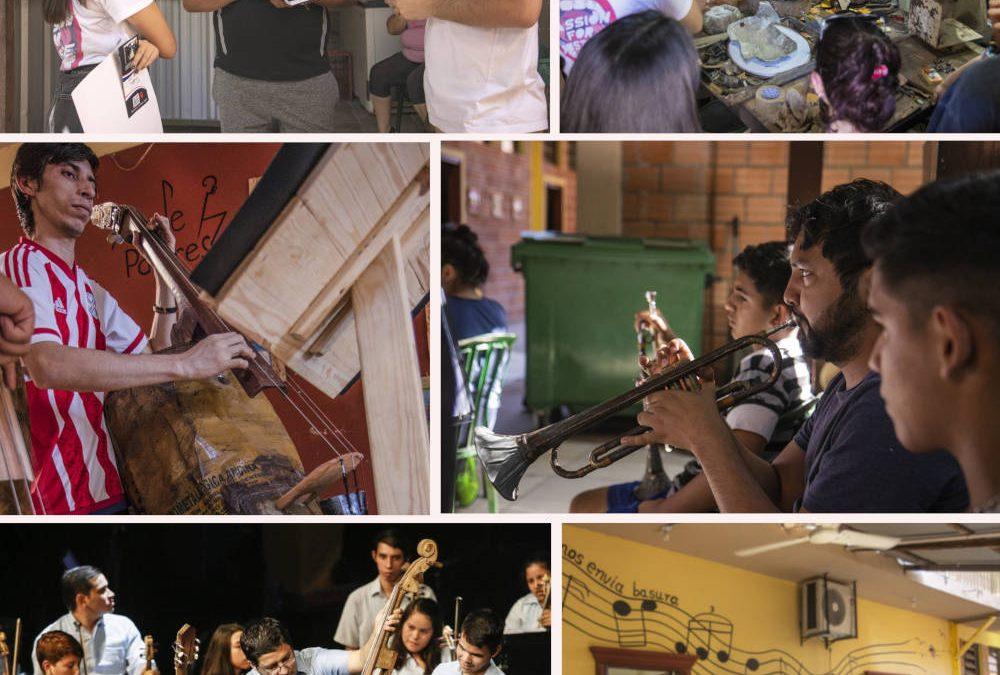 """PARAGUAY – I musicisti del Paraguay: """"Il mondo ci invia spazzatura e noi gli rinviamo musica"""""""