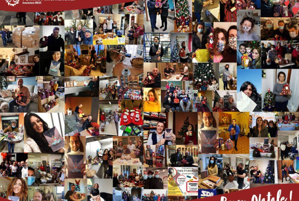 Natale 2020. Un pensiero speciale ai nostri volontari e sostenitori.